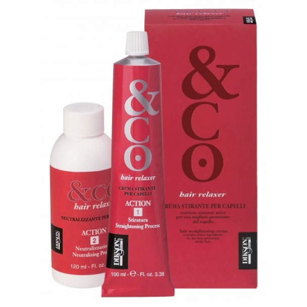 Холодное выпрямление волос Dikson Hair Relaxer