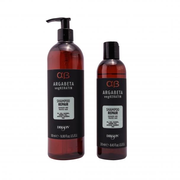 Аргановый шампунь для восстановления волос  Argabeta Vegan