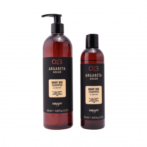 Аргановый шампунь для всех типов волос  Argabeta Vegan