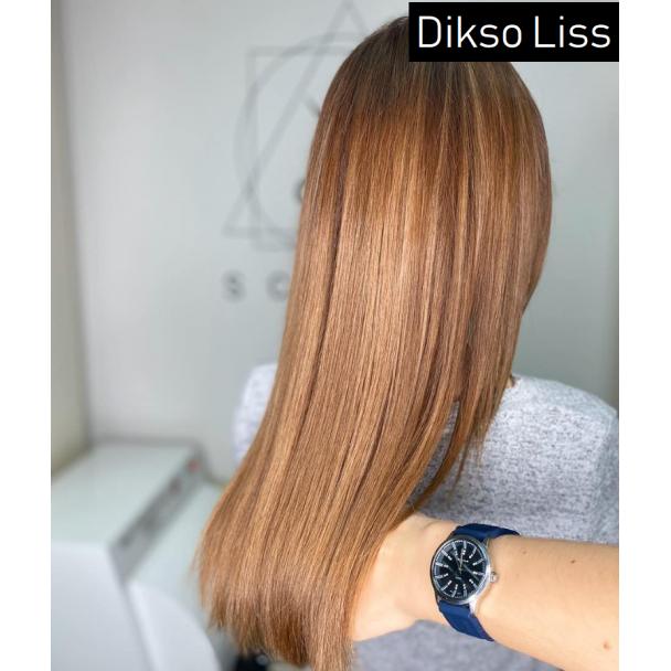 Процедура гладкости волос с гиалуроновой кислотой Diksoliss